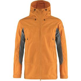 Fjällräven Abisko Lite Trekking Jacket Men, ember orange/super grey